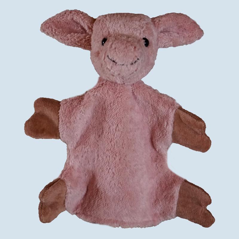 Kallisto Handpuppe - Schwein - Bio Baumwolle