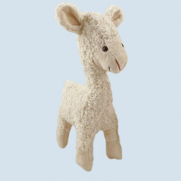 Kallisto Spieluhr - Lama Elsa, weiß -  Bio Baumwolle