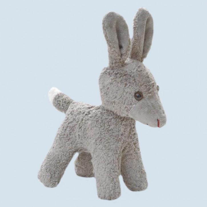 Kallisto Stofftier - kleiner Esel - Bio Baumwolle