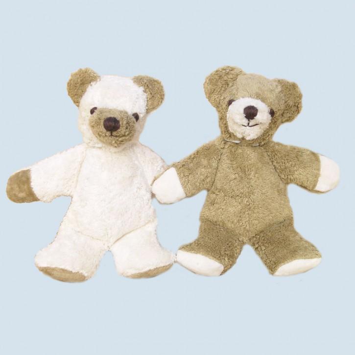 Kallisto Bio Kuscheltier - Bär, Teddy Knuffel - beige, gestickte Augen