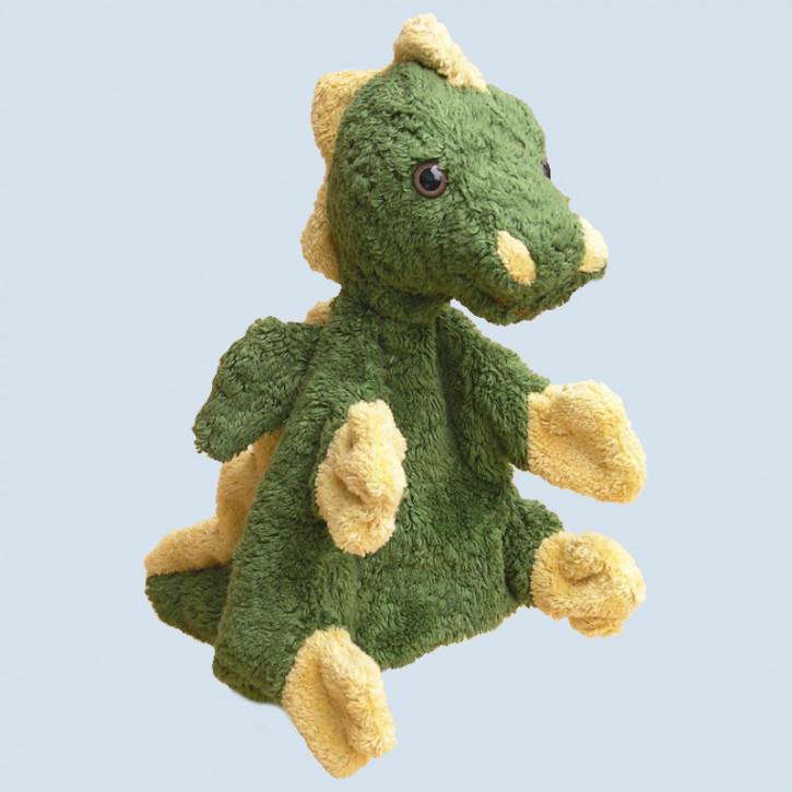 Kallisto hand puppet - dragon - organic cotton, eco