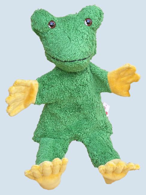 Kallisto Handpuppe - Frosch - Bio Baumwolle, öko