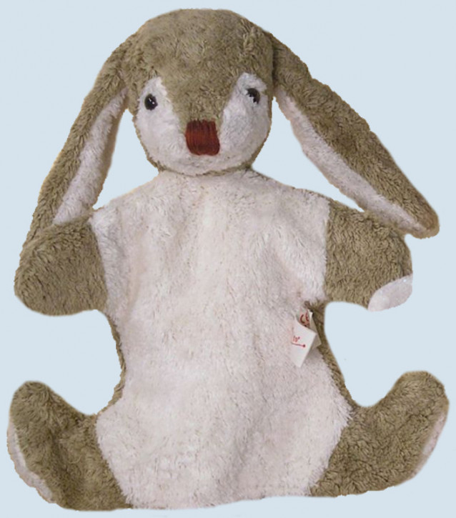 Kallisto hand puppet - rabbit - organic cotton