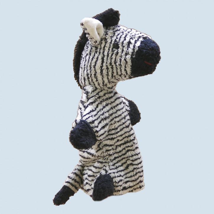 Kallisto hand puppet - Zebra - organic cotton, eco
