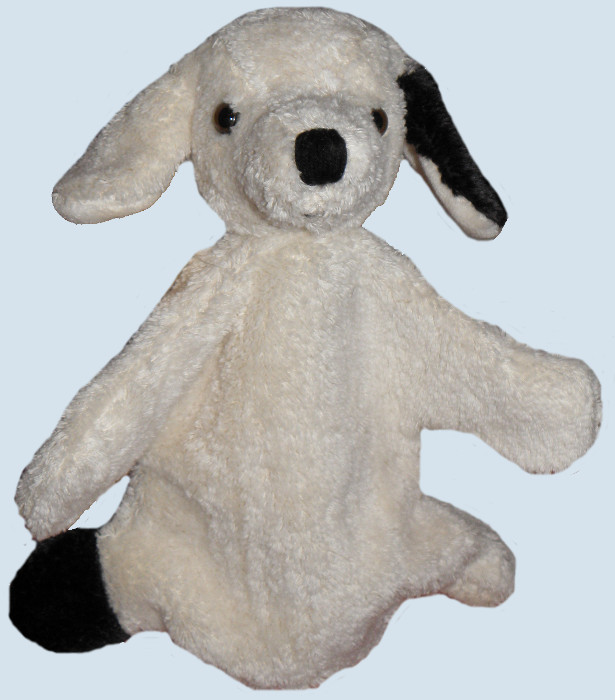Kallisto Handpuppe - Hund - Bio Baumwolle, öko