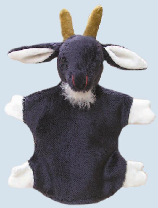 Kallisto Handpuppe - Ziege - schwarz, Bio Baumwolle, öko