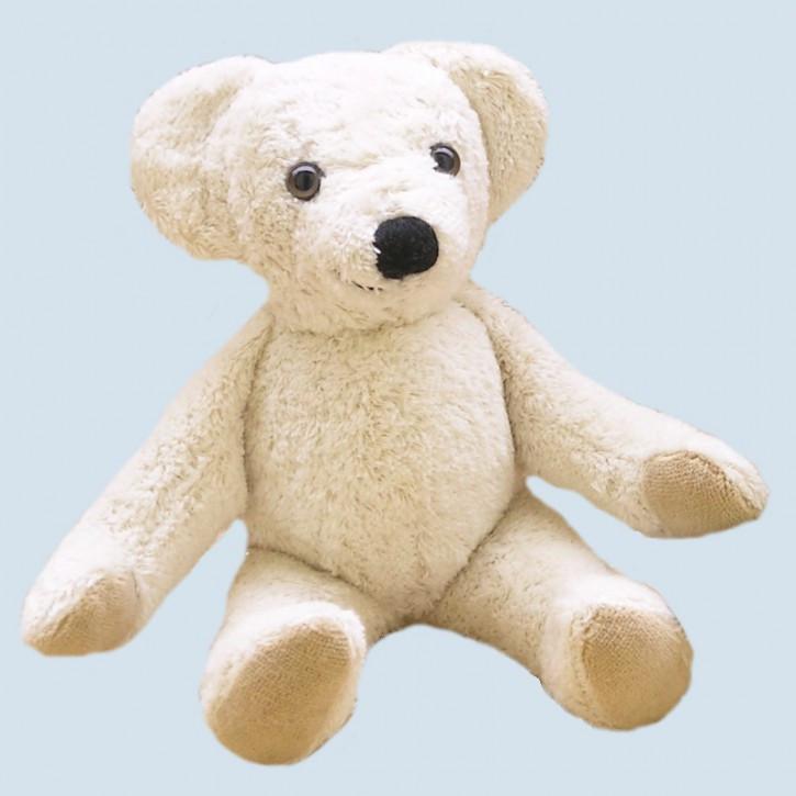 Kallisto Spieluhr - Schlenker Bär, Teddy - weiß, Bio Baumwolle