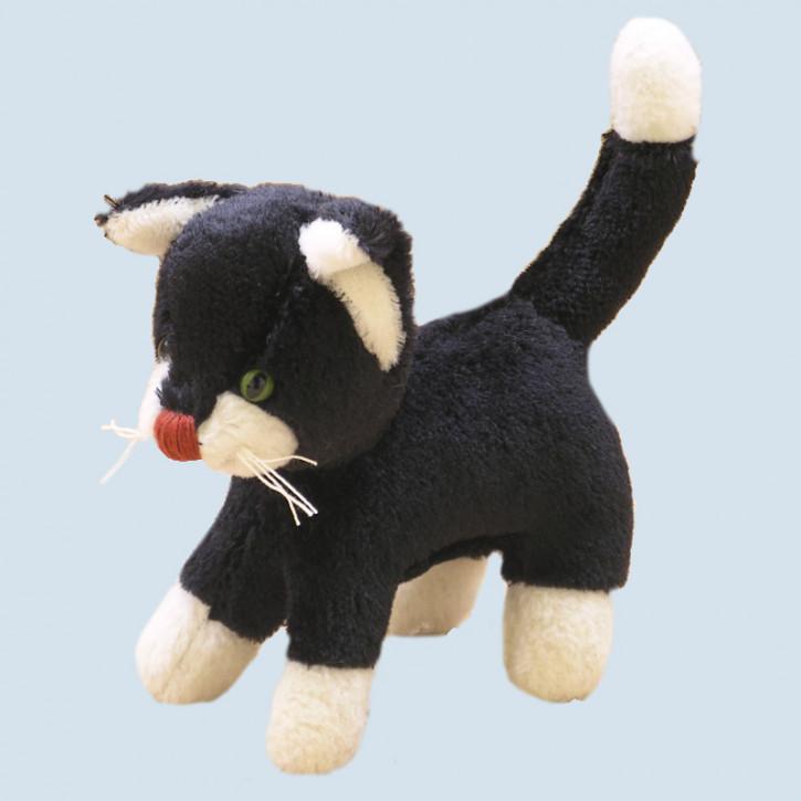 Kallisto Stofftier, Kuscheltier - Katze - schwarz
