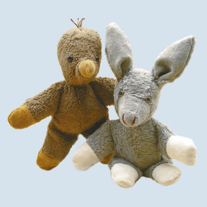 Kallisto Stofftier - Esel Knuffel - Bio Baumwolle