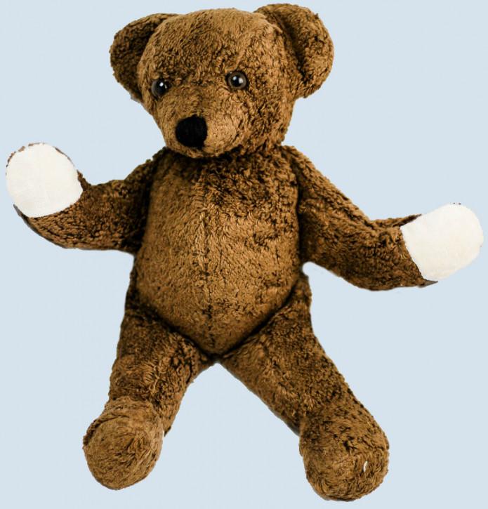 Kallisto Spieluhr - Schlenker Bär, Teddy - dunkelbraun, Bio Baumwolle