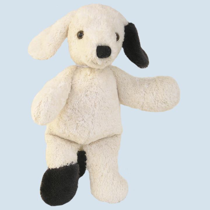 Kallisto cuddly animal with music box ♫ Dog - organic cotton, eco