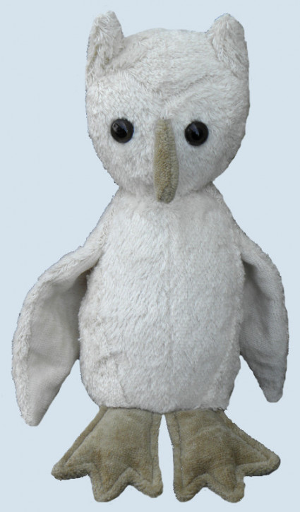Kallisto ♫ Spieluhr Eule - weiß, Bio Baumwolle, öko