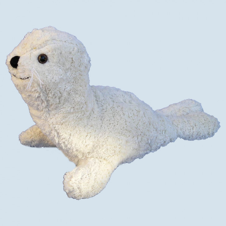Kallisto stuffed animal with music box - seal - organic cotton, eco