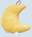 Kallisto Spieluhr Mond ♫ Mozarts Wiegenlied - gelb, Bio Baumwolle, öko