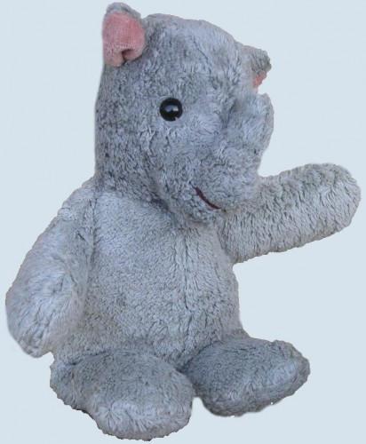Kallisto Spieluhr Nashorn ♫ Guter Mond - grau, Bio Baumwolle, öko