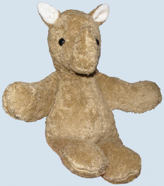 Kallisto Spieluhr Nashorn ♫ Brahms Wiegenlied - beige, Bio Baumwolle