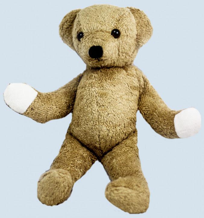 Kallisto Stofftier, Kuscheltier - Bär, Teddy - beige, Bio Baumwolle