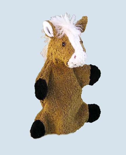 Kallisto hand puppet - Horse - organic cotton, eco