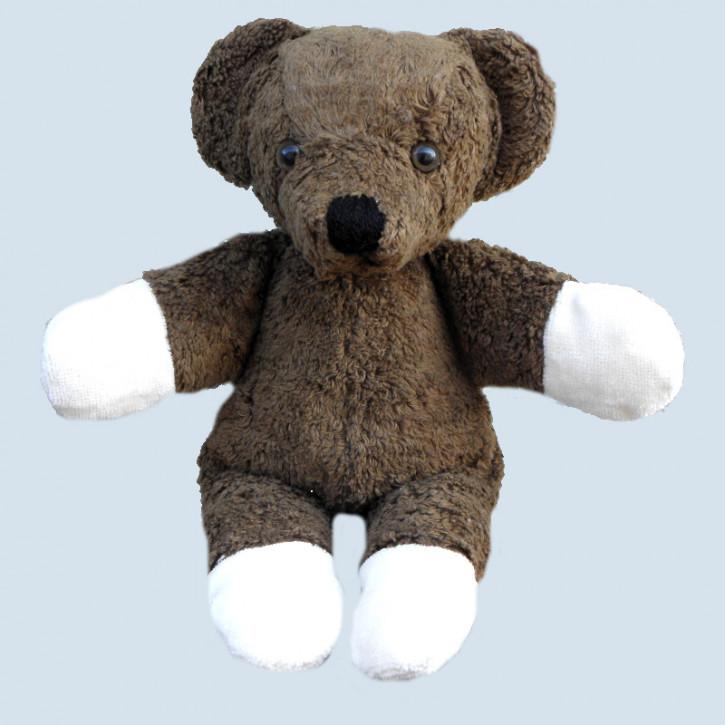 Kallisto Stofftier - Kuscheltier Bär, Teddy Orpi - dunkelbraun, bio