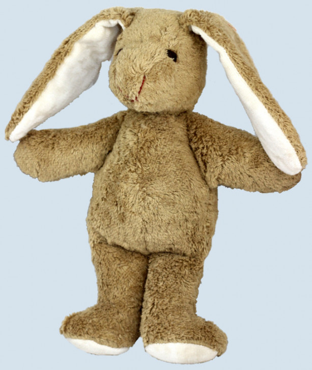Kallisto cuddly animal Schnuffel - rabbit - beige, organic cotton