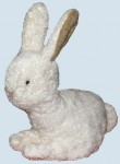 Kallisto cuddly animal - snow bunny - organic cotton
