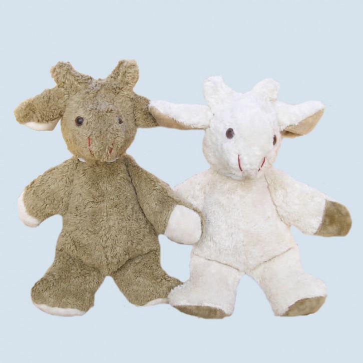 Kallisto stuffed animal - Goat - organic cotton, eco, beige
