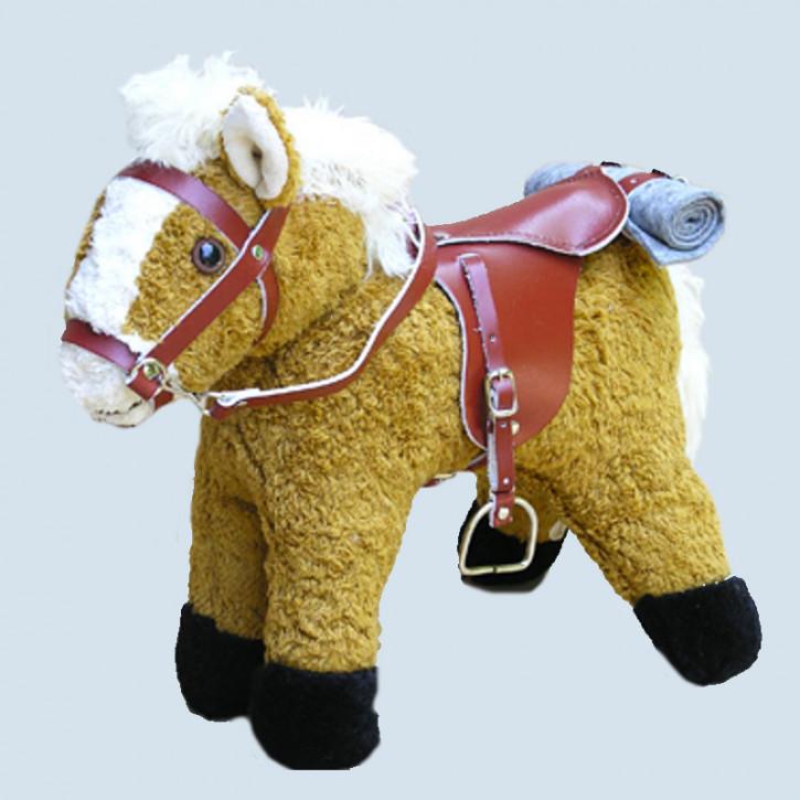Kallisto - Saddle and Bridle for Horse Leyla - red