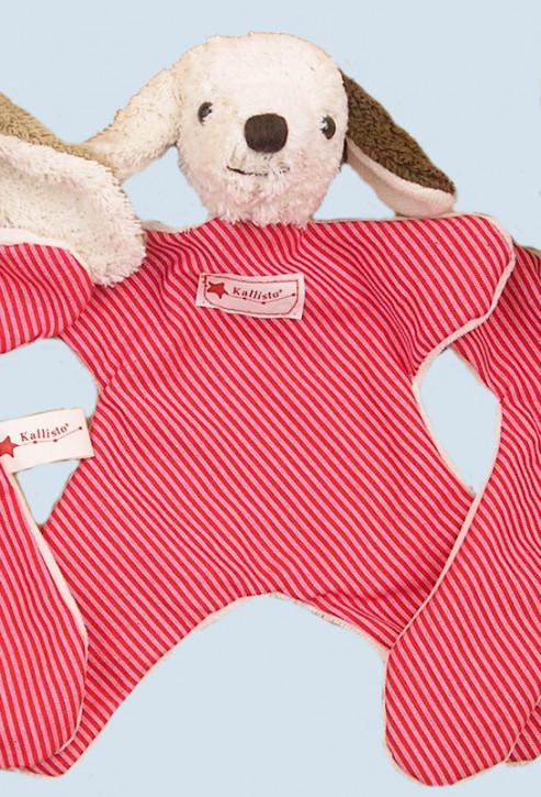 Kallisto Stofftier - Schmusetuch Hund - Bio Baumwolle, öko