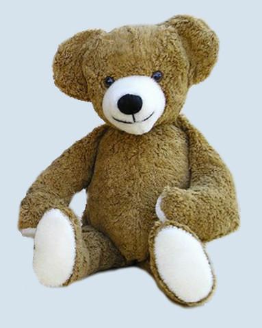 Kallisto Spieluhr - großer Schlenker Bär, Teddy - braun, Bio Baumwolle