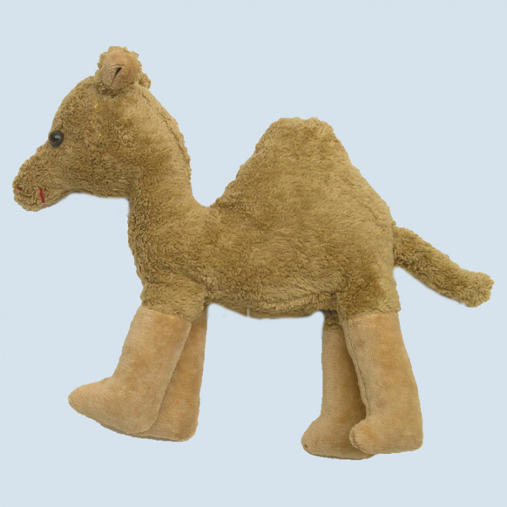 Kallisto cuddly animal with music box Dromedary, Camel - organic cotton, eco