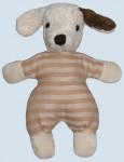 Kallisto Stofftier, Kuscheltier - Rasseltier Hund - Bio Baumwolle, öko