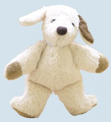 Kallisto stuffed animal - Dog - organic cotton, eco