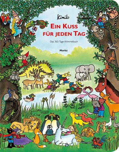 Moritz Verlag - Ein Kuss für jeden Tag - Wimmelbuch