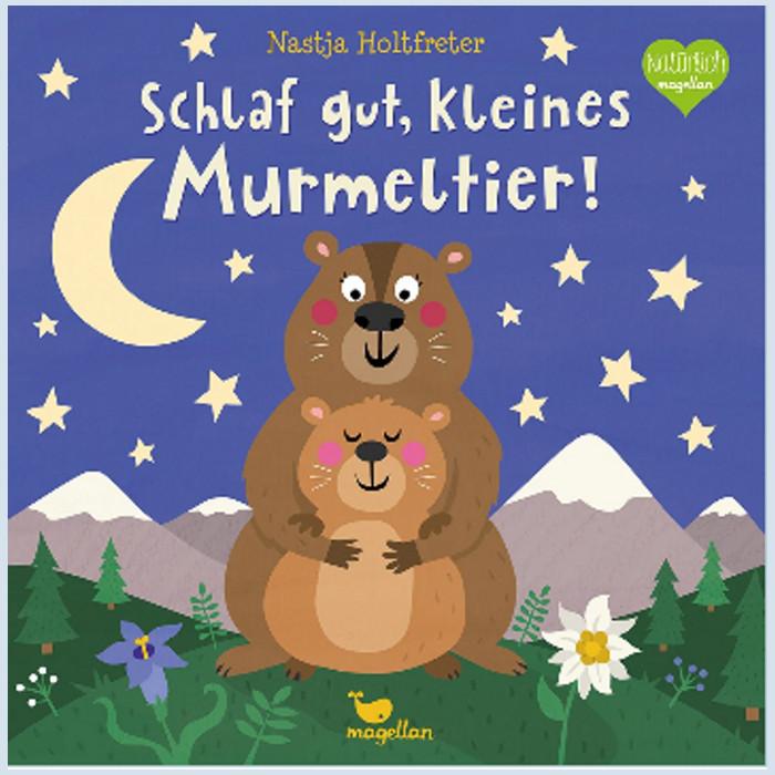 Kinderbuch - Schlaf gut, kleines Murmeltier - Magellan