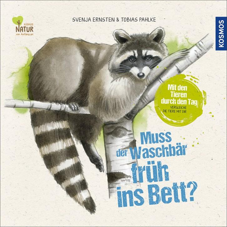 Kinderbuch - Muss der Waschbär früh ins Bett? - KOSMOS Verlag