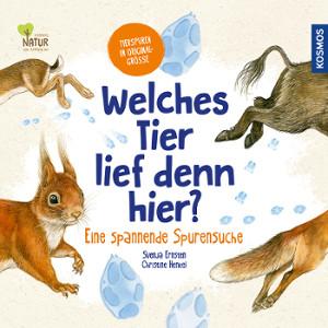 Kinderbuch - Welches Tier lief denn hier ? KOSMOS Verlag