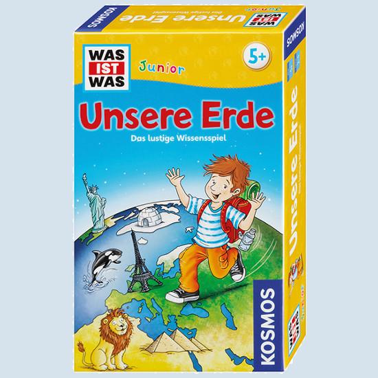 KOSMOS Verlag Kinderspiel - WAS IST WAS Junior - Unsere Erde