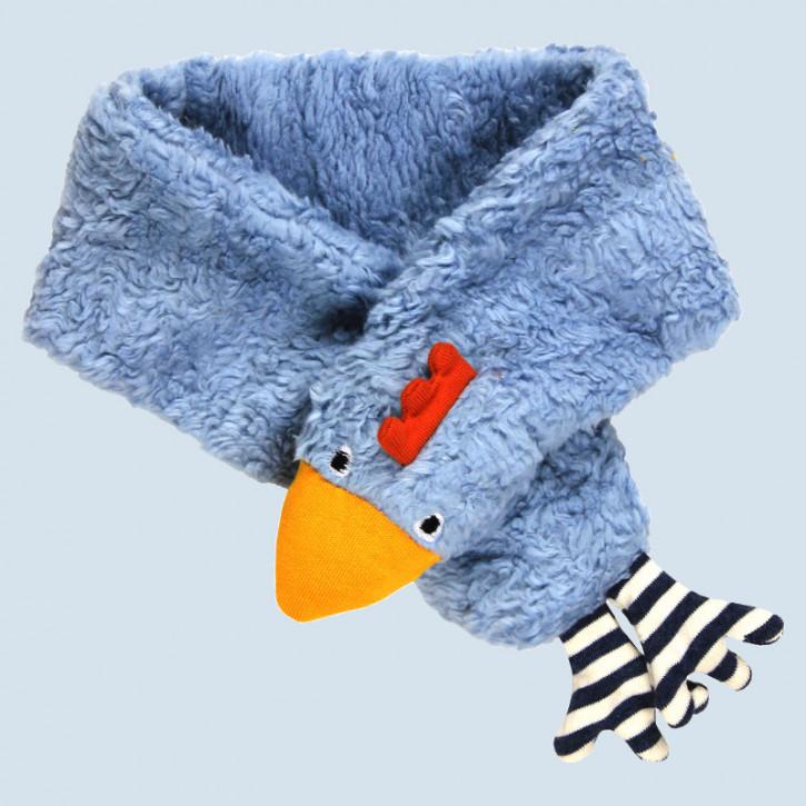Lana - Kinderschal Huhn - blau, Baumwolle, Bio Qualität