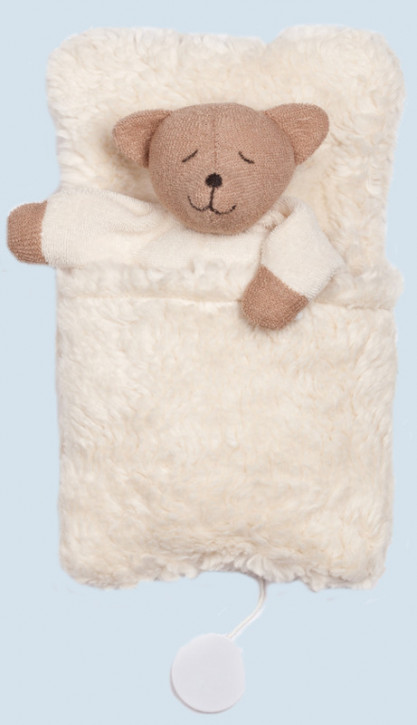 Nanchen ♫ music box bear, teddy - organic cotton, eco