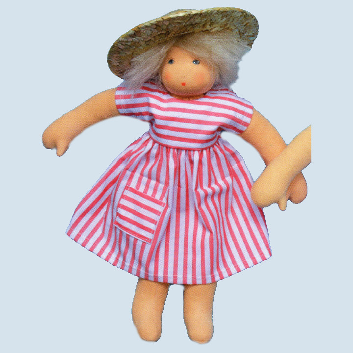 Nanchen Puppe - Sonnenkind Ella, Bio Baumwolle