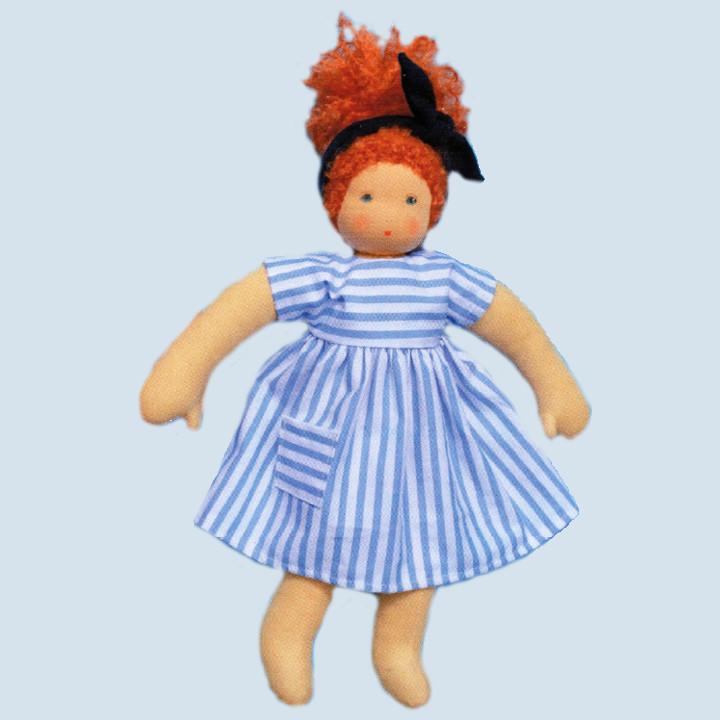 Nanchen Puppe - Sonnenkind Nora, Bio Baumwolle
