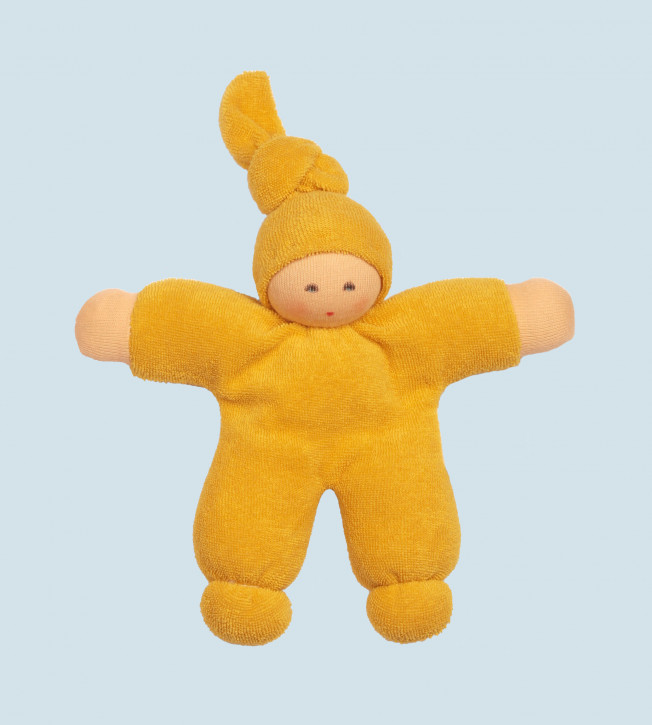 Nanchen Doll - Pimpel - yellow, organic cotton, eco