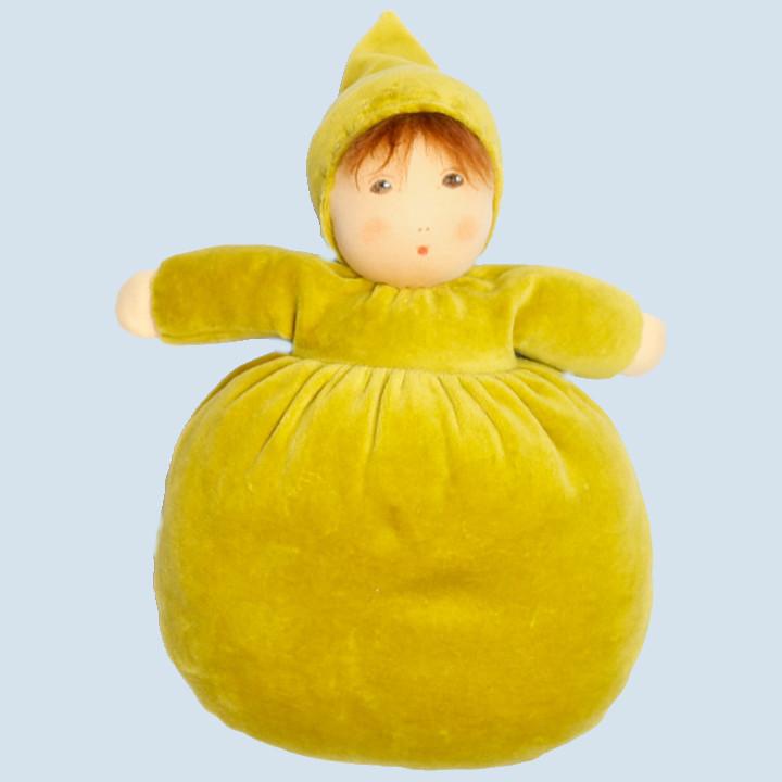 Nanchen Puppe - Blütenkind Goldglöckchen, Bio