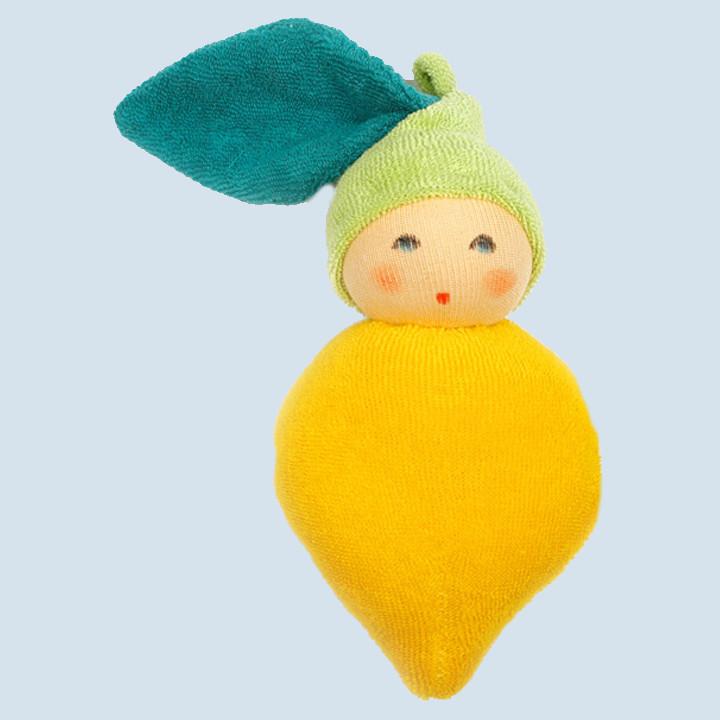 Nanchen Puppe - Zitrone - Bio Baumwolle