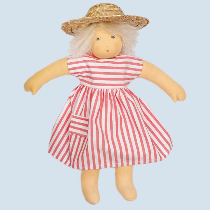 Nanchen Puppe - Strandkind Ella, Bio Baumwolle