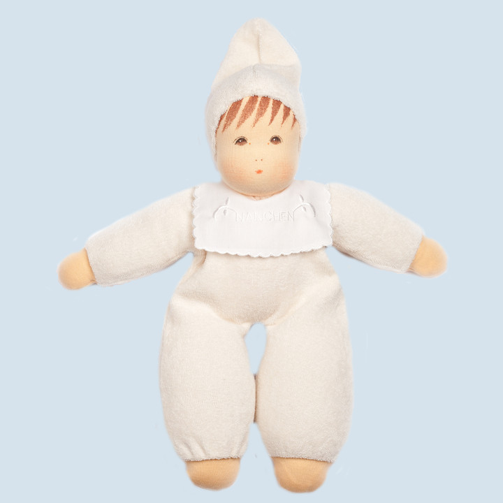 Nanchen doll - soft baby - nature, organic cotton, eco