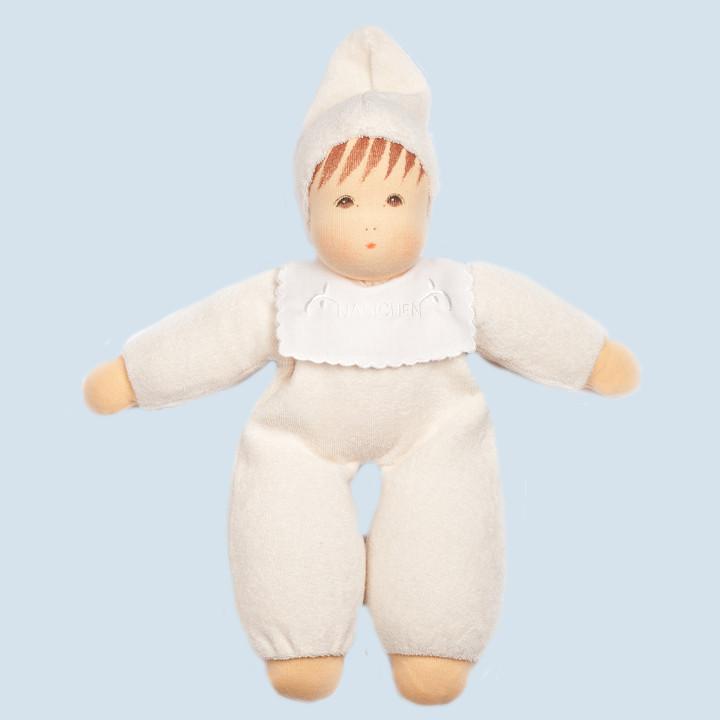 Nanchen Puppe - Frottee Baby - natur, Bio Baumwolle, öko