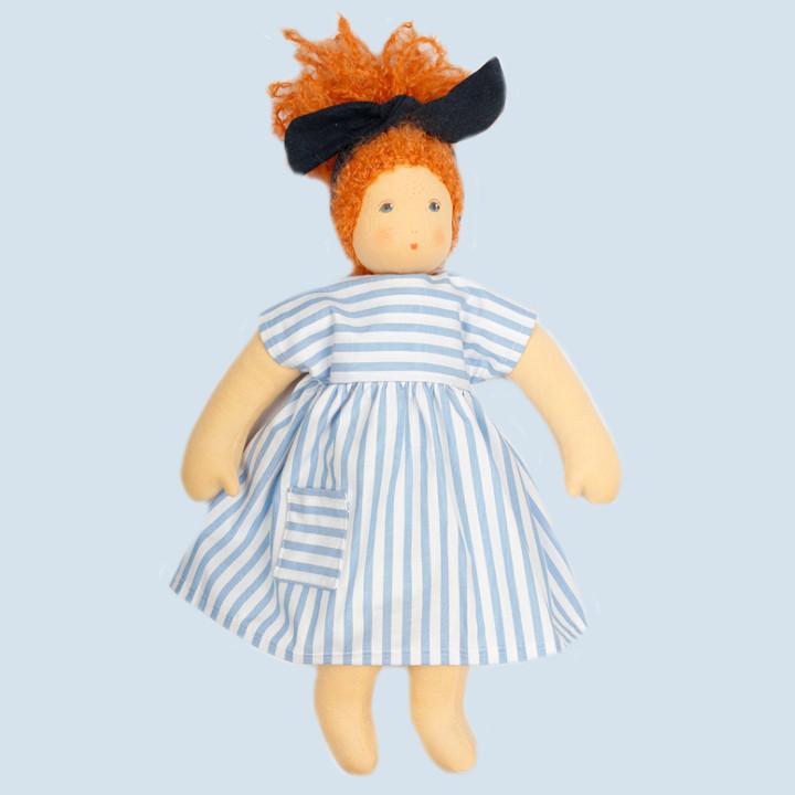Nanchen Puppe - Strandkind Nora, Bio Baumwolle