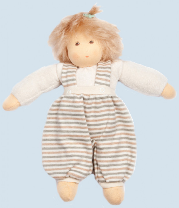 Nanchen Puppe - Clara - natur, Bio Baumwolle, öko