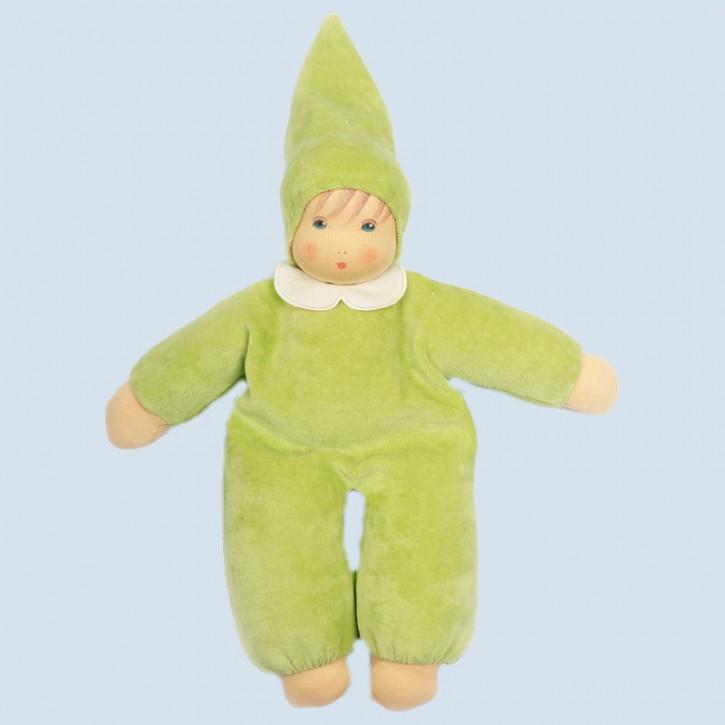 Nanchen Puppe - Nani - lindgrün, Bio Baumwolle, ökologisch